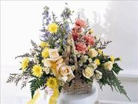 Loving Remembrance™ Basket by US Funeral Flowers