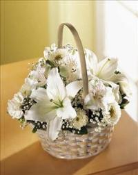 Divinity™ Basket by US Funeral Flowers