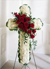 Floral Cross by US Funeral Flowers