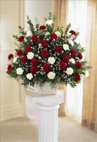 Devotion Arrangement by US Funeral Flowers