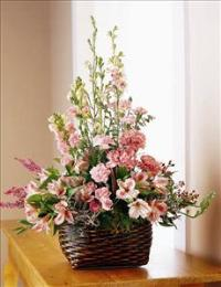 Exquisite Memorial Basket by US Funeral Flowers