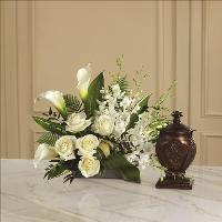 At Peace Arrangement by US Funeral Flowers