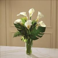 Always Adored Calla Lily Bouquet by US Funeral Flowers