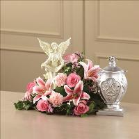 Divinity Arrangement by US Funeral Flowers