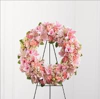 Loving Remembrance Wreath by US Funeral Flowers