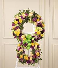 Eternity Standing Easel by US Funeral Flowers