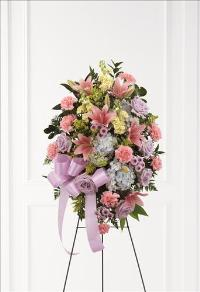 Blessings of the Earth Easel by US Funeral Flowers