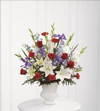 Cherished Farewell Arrangement by US Funeral Flowers