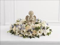 The Little Angel Ring of Flowers by US Funeral Flowers