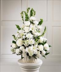 Eternal Light™ Arrangement by US Funeral Flowers