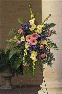 Hope and Harmony Spray by US Funeral Flowers
