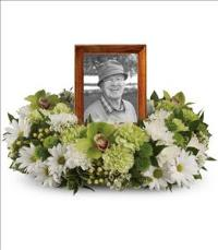 Garden Wreath by US Funeral Flowers