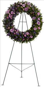 Heavenly Wreath by US Funeral Flowers