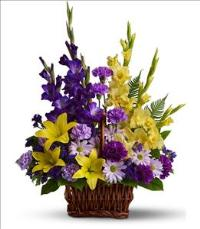 Basket of Memories by US Funeral Flowers