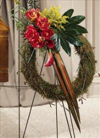 Never-ending Love Wreath by US Funeral Flowers