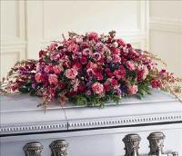 Affection Casket Spray by US Funeral Flowers