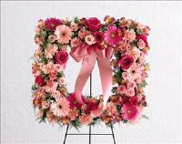 Peaceful Thoughts™ Wreath by US Funeral Flowers