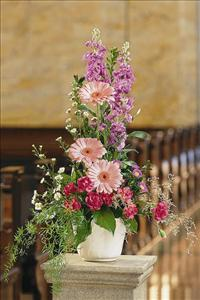 Linear Arrangement by US Funeral Flowers