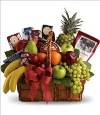 Bon Vivant Gourmet Basket by US Funeral Flowers