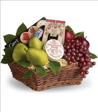 Delicious Delights Basket by US Funeral Flowers