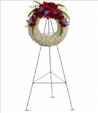 Reflections of Glory Wreath by US Funeral Flowers