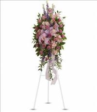 Finest Farewell Spray by US Funeral Flowers