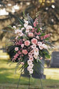 Mixed Pink Spray by US Funeral Flowers