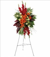 A New Sunrise Spray by US Funeral Flowers