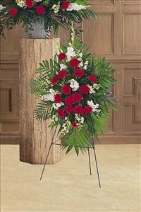 Cherished Moments Spray by US Funeral Flowers