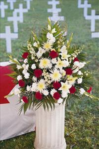 Canadian Setting Arrangement by US Funeral Flowers