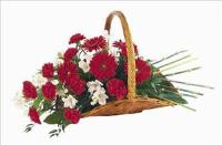 Basket Of Comfort by US Funeral Flowers