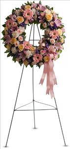 Graceful Wreath by US Funeral Flowers