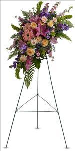 Heavenly Grace Spray by US Funeral Flowers
