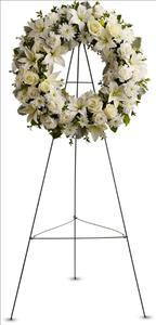 Serenity Wreath by US Funeral Flowers