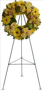 Circle of Sunshine by US Funeral Flowers